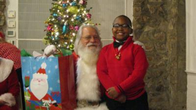 Healthy Grandparents Program Christmas Party at Augusta University